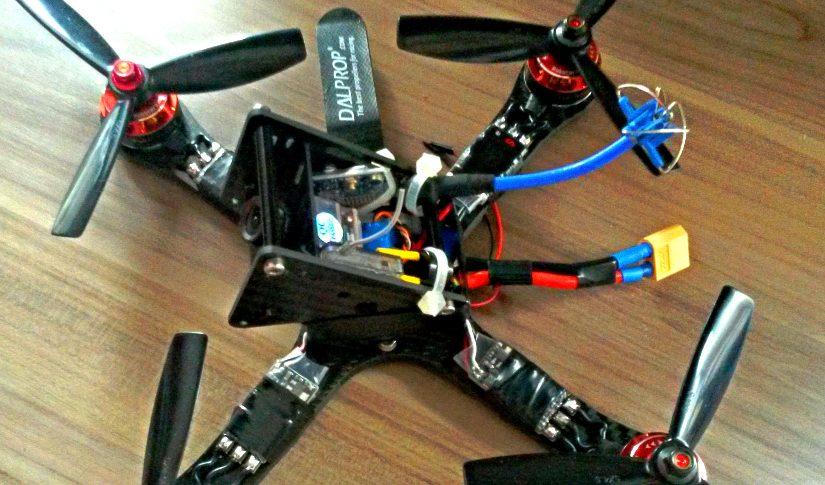 GE220 X Frame Racer mit 5mm Carbon Armen
