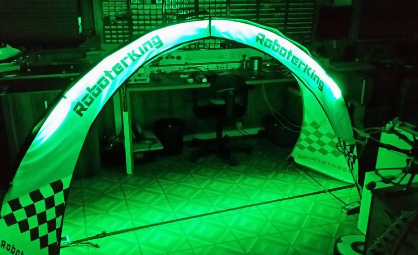 RoboterKing FPV Gate mit Beleuchtung