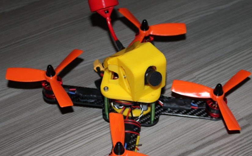 X185 FPV Racer – Carbon PLA Frame