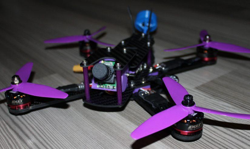 Purple Beast – X245 Carbon FPV Racer