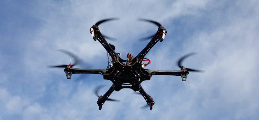 Hexakopter 550mm mit Pixhawk Flugsteuerung