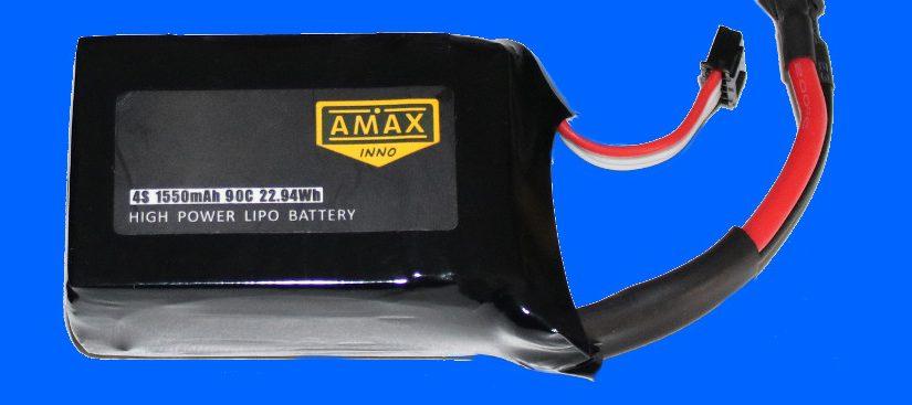 AMAXinno 4S 1550mAh 90C Lipo
