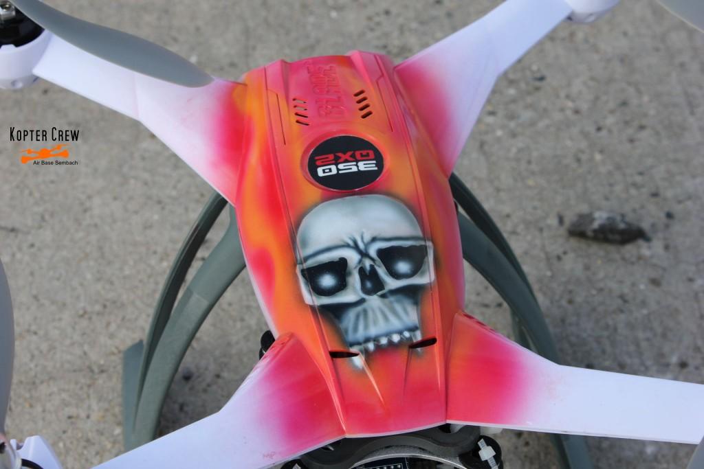 Blade 350QX v2 Airbrush