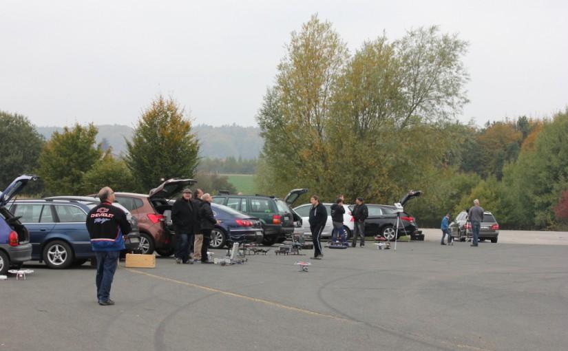Koptertreffen am 18.10.2015 auf der Air Base in Sembach