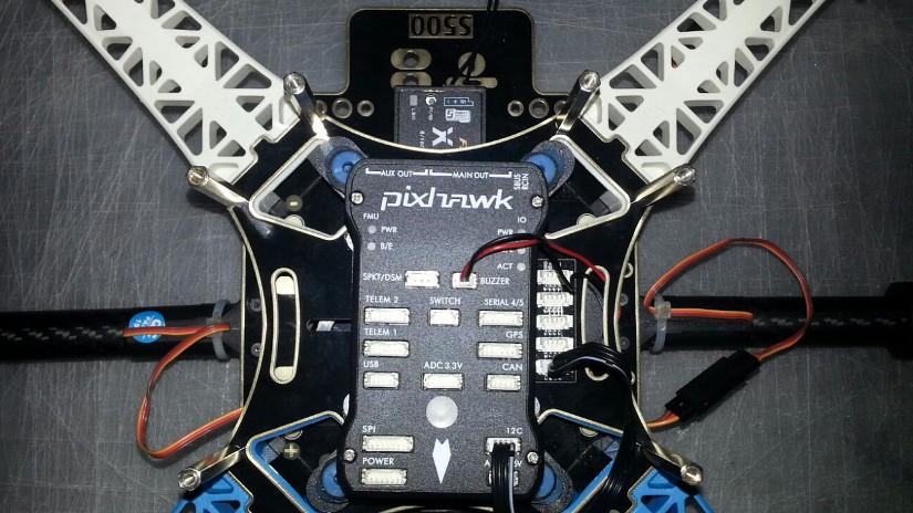 S500 mit Pixhawk Flightcontroller
