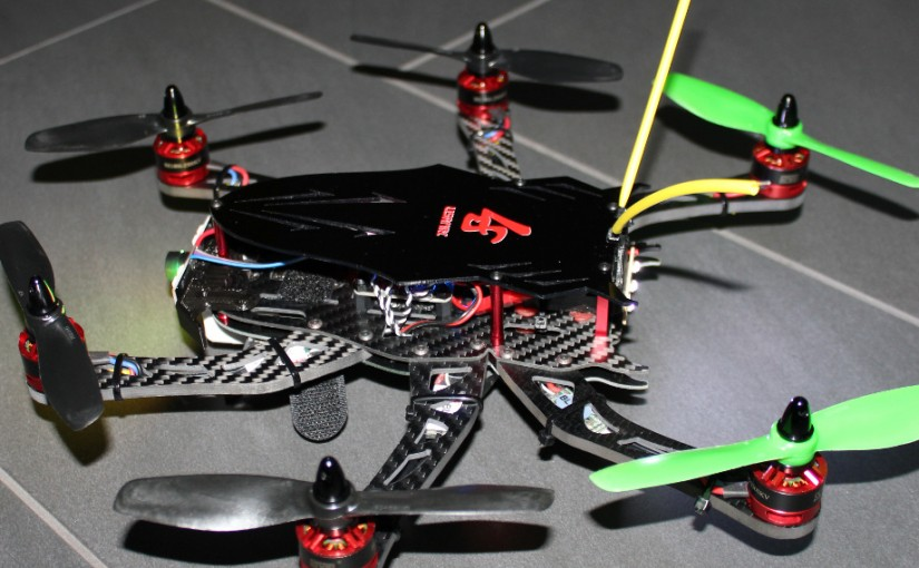 Hexakopter FPV Beetle LS-300 Carbon