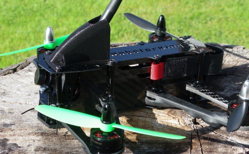 Roboterking 210 FPV Racer – Lipo und Antennenschutz