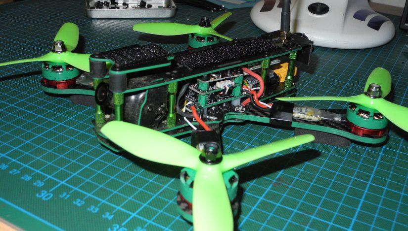 Umbau des Dquad Reflex 5″