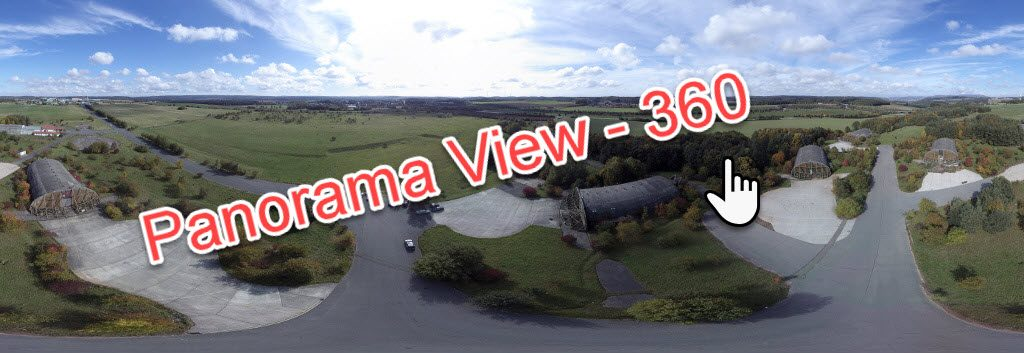 AirBase Sembach Panorama View