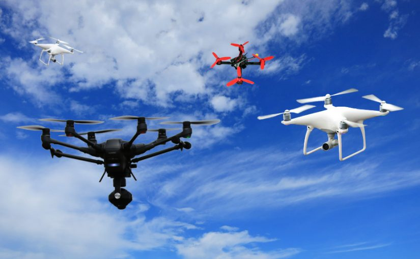 Regeln und Gesetzte Drohnenflug