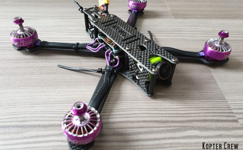 Purple Runner – 5″ FPV Freestyle Kopter